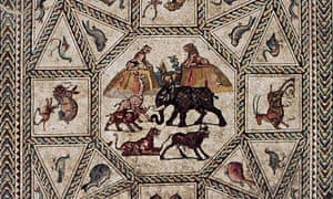 Central panel Lod mosaic.
