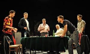 The cast of Dealer's Choice.