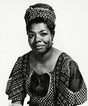 Maya Angelou in pictures: Maya Angelou - 1972