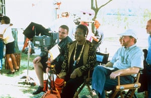 Maya Angelou in pictures: Directing 'Down In The Delta'