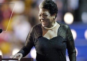 Maya Angelou in pictures: Maya Angelou in 2004