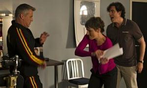 Matt LeBlanc, Tamsin Greig and Stephen Mangan in Episodes. Photograph: B