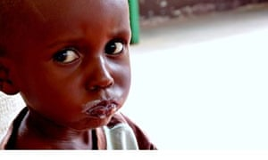 A child in Central African Republic