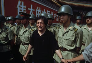 Government crackdown at Tiananmen Square, 2 June 1989.