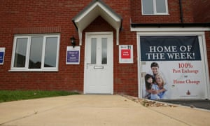 A housing development on May 20, 2014 in Middlewich, England.