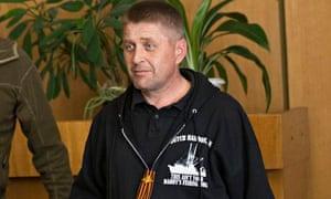 Vyacheslav Ponomarev, the self-proclaimed 'people's mayor' of Slavyansk