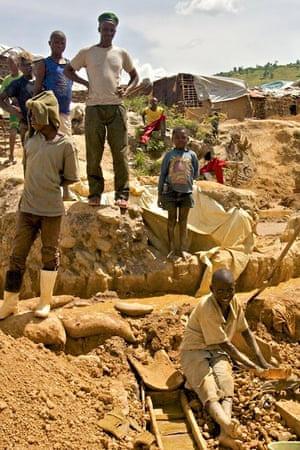 child miners/soldiers in DRC