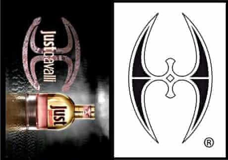Just Cavalli and Sufi symbol