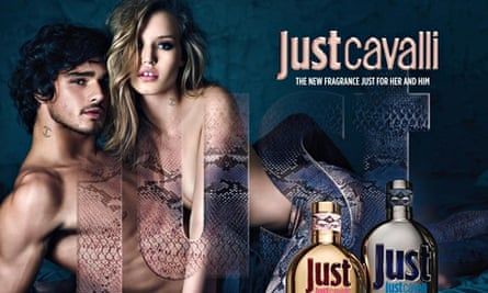 Georgia May Jagger in the Just Cavalli campaign