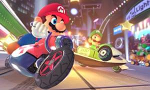 Nintendo's star gets wheels in Mario Kart 8.