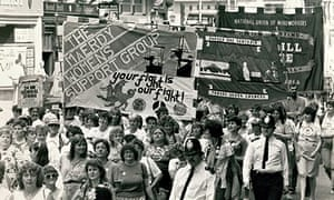 GNM Archive resource of the month Miners wives rally in London