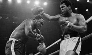 Joe Frazier and Muhammad Ali