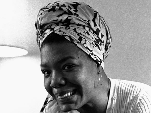 What kind of poetry does Maya Angelou write?
