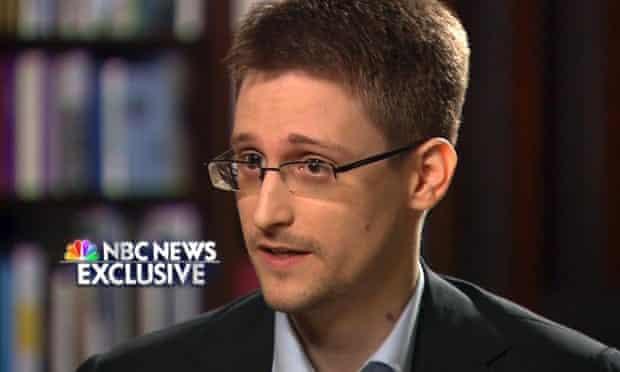 Edward Snowden on NBC.