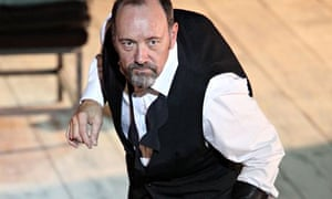 Richard III played by Kevin Spacey