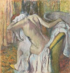 Degas - backs in art