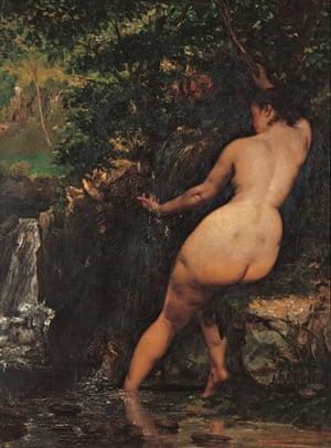 Courbet - backs in art