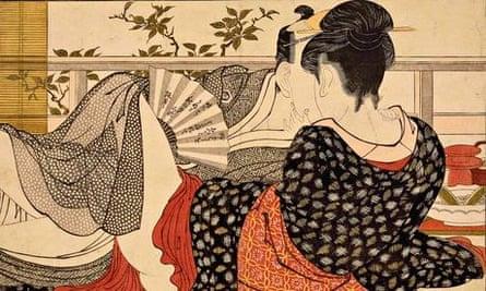 Utamaro - backs in art