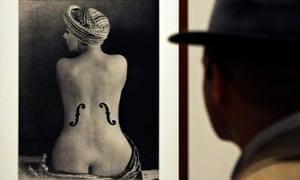 Man Ray - backs in art