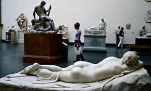 Canova - backs in art