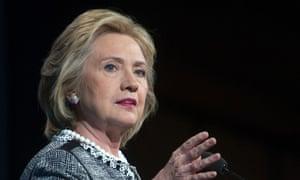 Hillary Clinton in Washington