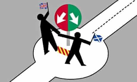 Scottish independence illustration by Otto Dettmer
