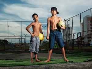 José Carlos, 10, and Gabriel Brayan Santos Marques, 13, Manaus