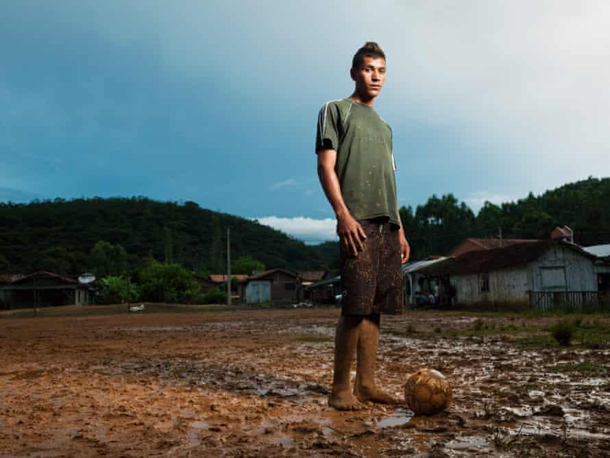 'Indio' Rogerio Bueno dos Santos, 15, Barrio de Fazendinha