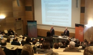 David Willetts speaking at UCL