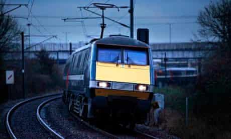 East Coast train