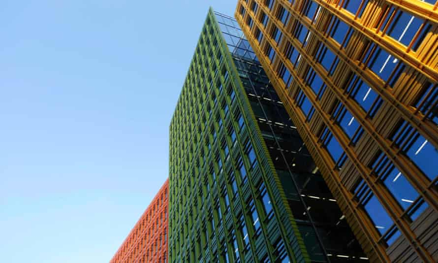 An office block at Central St Giles, London, where Google has offices.