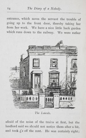 Illustration from The Diary of a Nobody