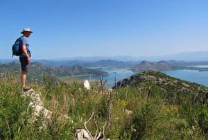Hiking at Lake Skadar.