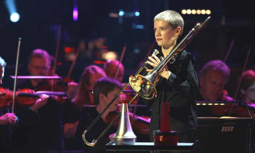 Peter Moore in 2008 aged 12 winner of the BBC Young Musician competition