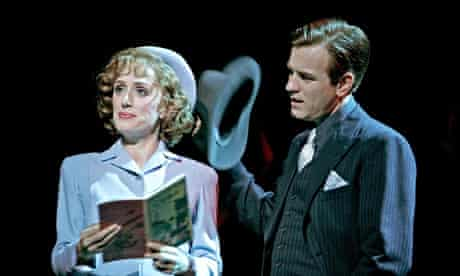 Ewan McGregor and Jenna Russell in Guys and Dolls at the Piccadilly Theatre, in London, May 2005.