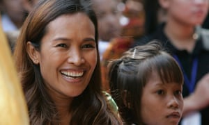 Cambodian activist Somaly Mam.