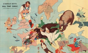 Humoristische Karte Von Europa 1914.The Octopuses Of War Ww1 Propaganda Maps In Pictures