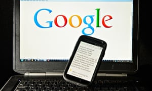 A Google search removal request displayed on the screen of a smartphone.