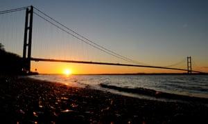 Hull humber bridge