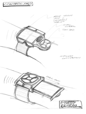 Dyson Halo control pad