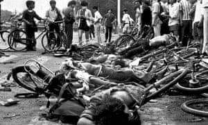 Victims of the massacre.