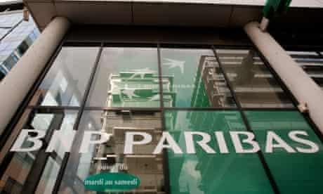 BNP Paribas in Paris.