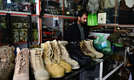 Shop in Bush Bazaar, Kabul: Afghanistan