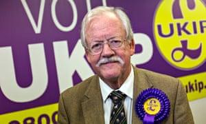 Roger Helmer, UKIP candidate