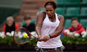 d95a20123 Taylor Townsend showed her talent during last week s French Open
