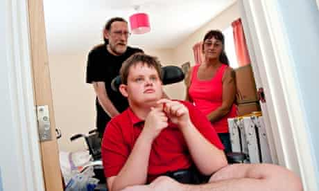 Bedroom Tax: Paul and Sue Rutherford with Warren