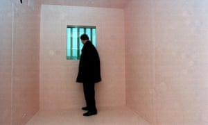 Inside a prison: no place for the mentally ill.