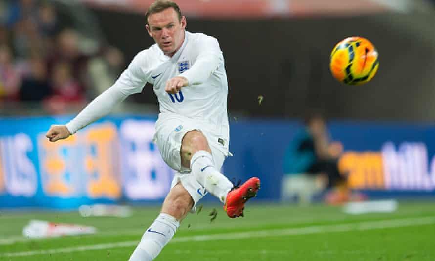 Wayne Rooney, England v Peru
