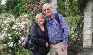 Mary and Rodney Burrows