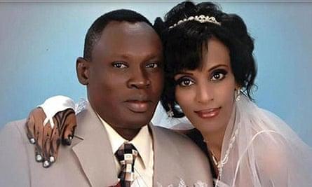 Daniel Wani married his wife Meriam in 2011